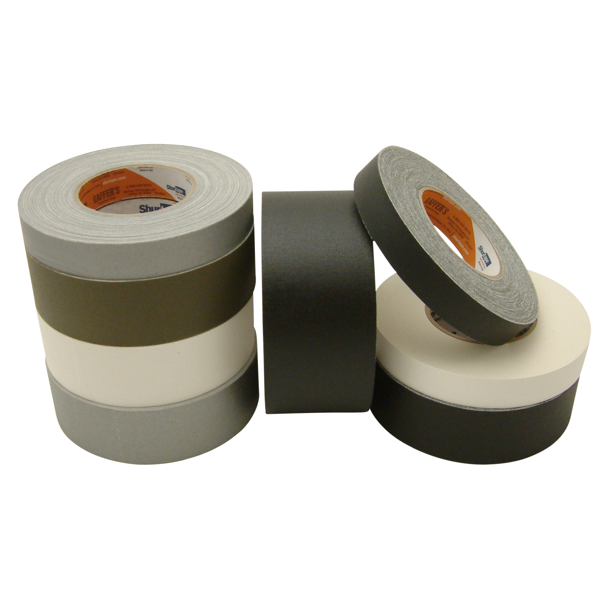 Shurtape P-672 Professional Grade Gaffers Tape: 2 in. x 50 yds. (Olive Drab)