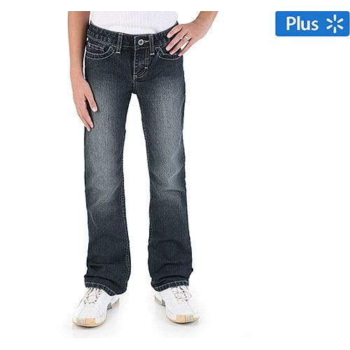 Wrangler Girls' Plus Boot Cut Jeans