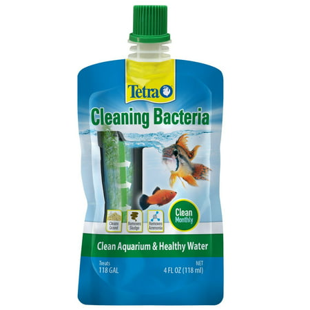 - Tetra Cleaning Bacteria for Clean Aquariums & Healthy Water, 4 OZ.