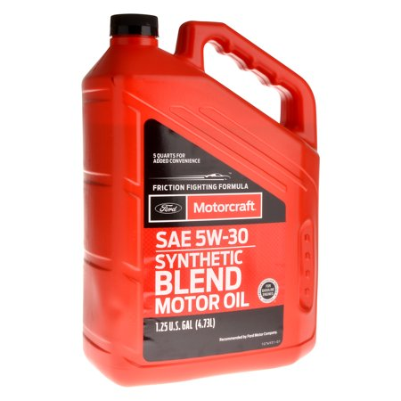 Motorcraft synthetic blend motor oil for Motor oil out of clothes