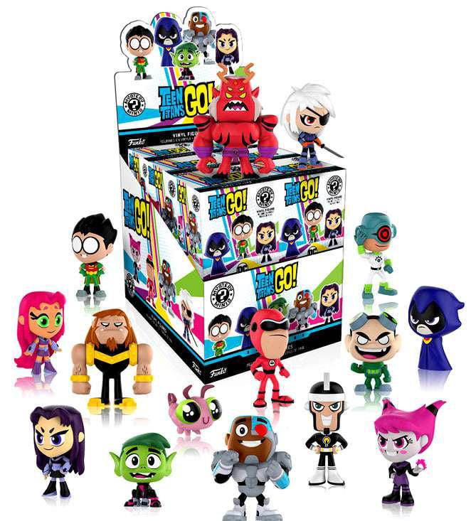 Funko Mystery Minis Teen Titans Go! Mystery Box [12 Packs] by