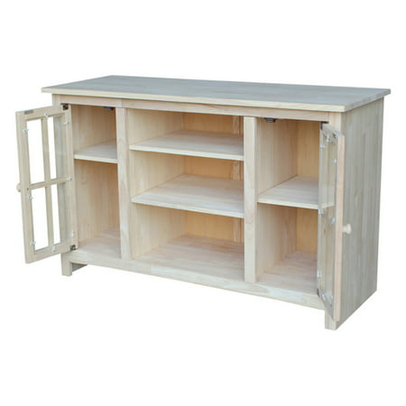 International Concepts Tv 34 Tv Stand With 2 Doors  Ready To Finish