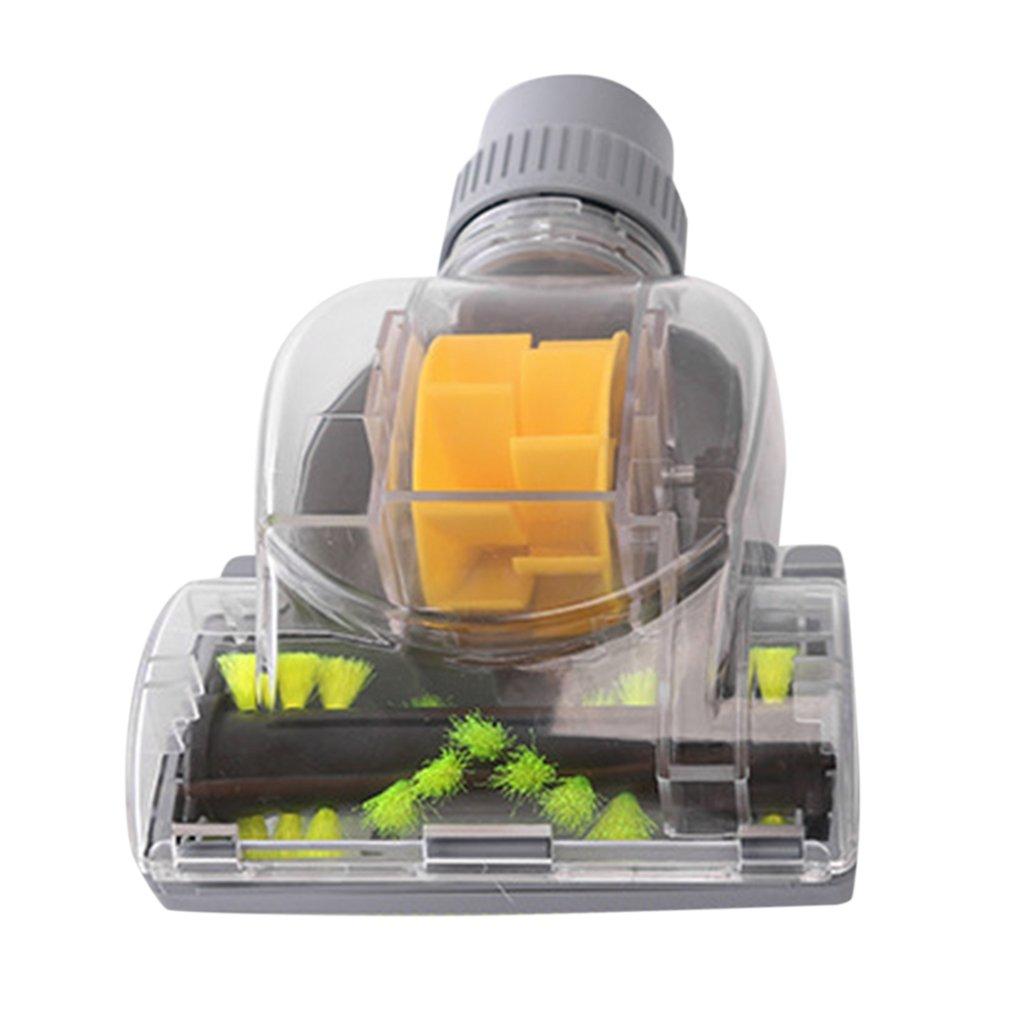 Household 32MM Vacuum Cleaner Turbo Floor Brush Vacuum Cleaner Accessories Mini Turbo Floor Brush for Pet Hair Dirt Removal