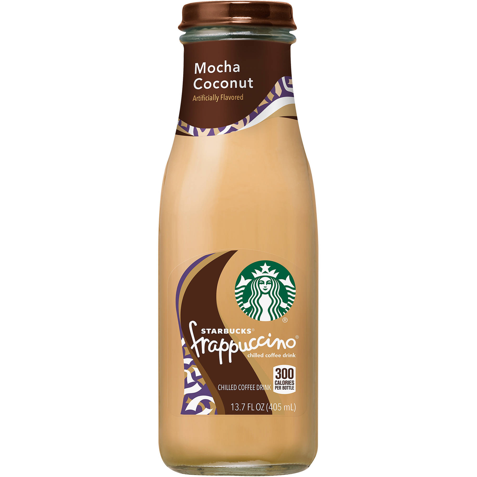 Starbucks Frappuccino Mocha Coconut Chilled Coffee Drink, 13.7 fl oz