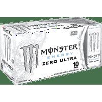 Monster Zero Ultra Energy Drink, 16 Fl. Oz., 10 Count