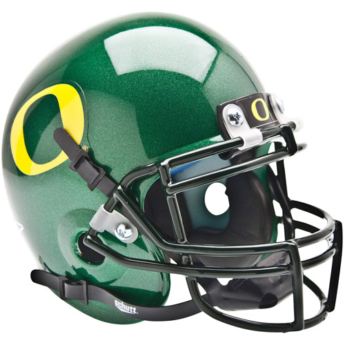 Shutt Sports NCAA Mini Helmet, Oregon Ducks
