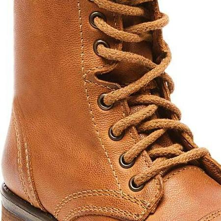 8c354cd58c7 steve madden womens steve madden tropa2 leather cap toe mid-calf combat  boots