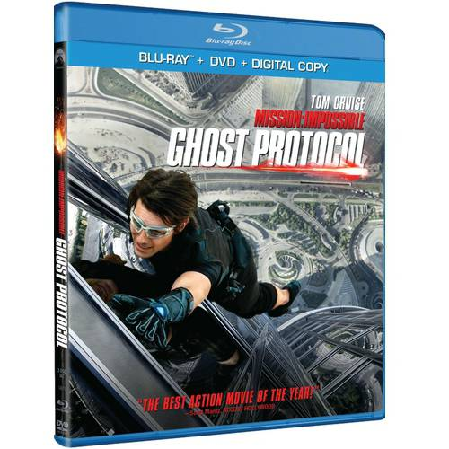 Mission  Impossible  Ghost Protocol  Blu Ray   Dvd   Vudu Digital Copy   Walmart Exclusive   With Instawatch   Widescreen