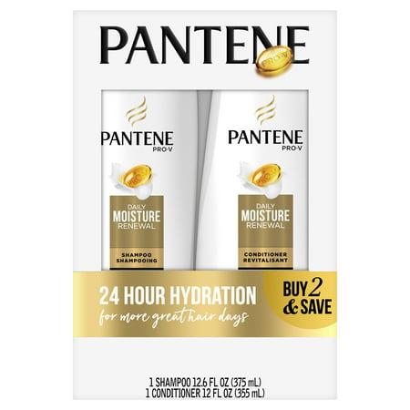 Pantene Pro-V Daily Moisture Renewal Shampoo and Conditioner (Free Samples Shampoo Conditioner)