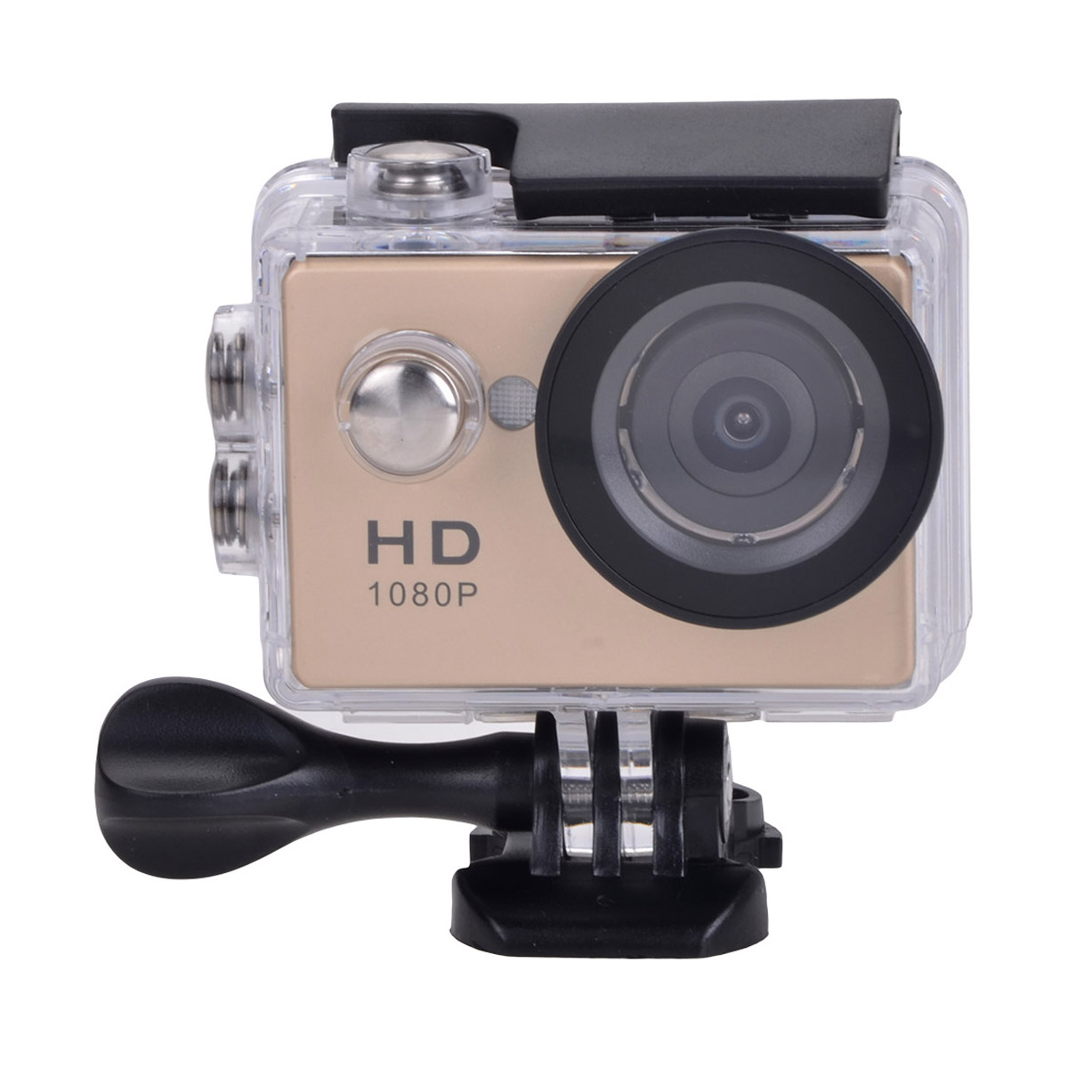 "HD 1080P 2"" LCD Waterproof 5.0MP Camcorder Sports Camera 5.0MP Action Camcorder - Champagne Gold"