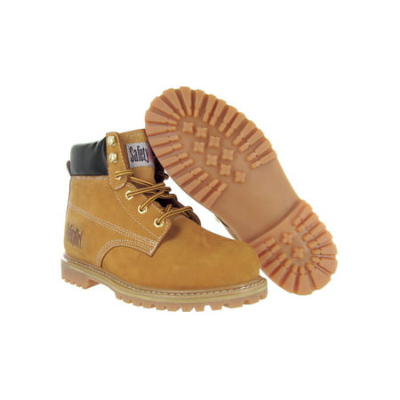 Safety Girl Steel Toe Waterproof Womens Work Boots - Tan - 9M