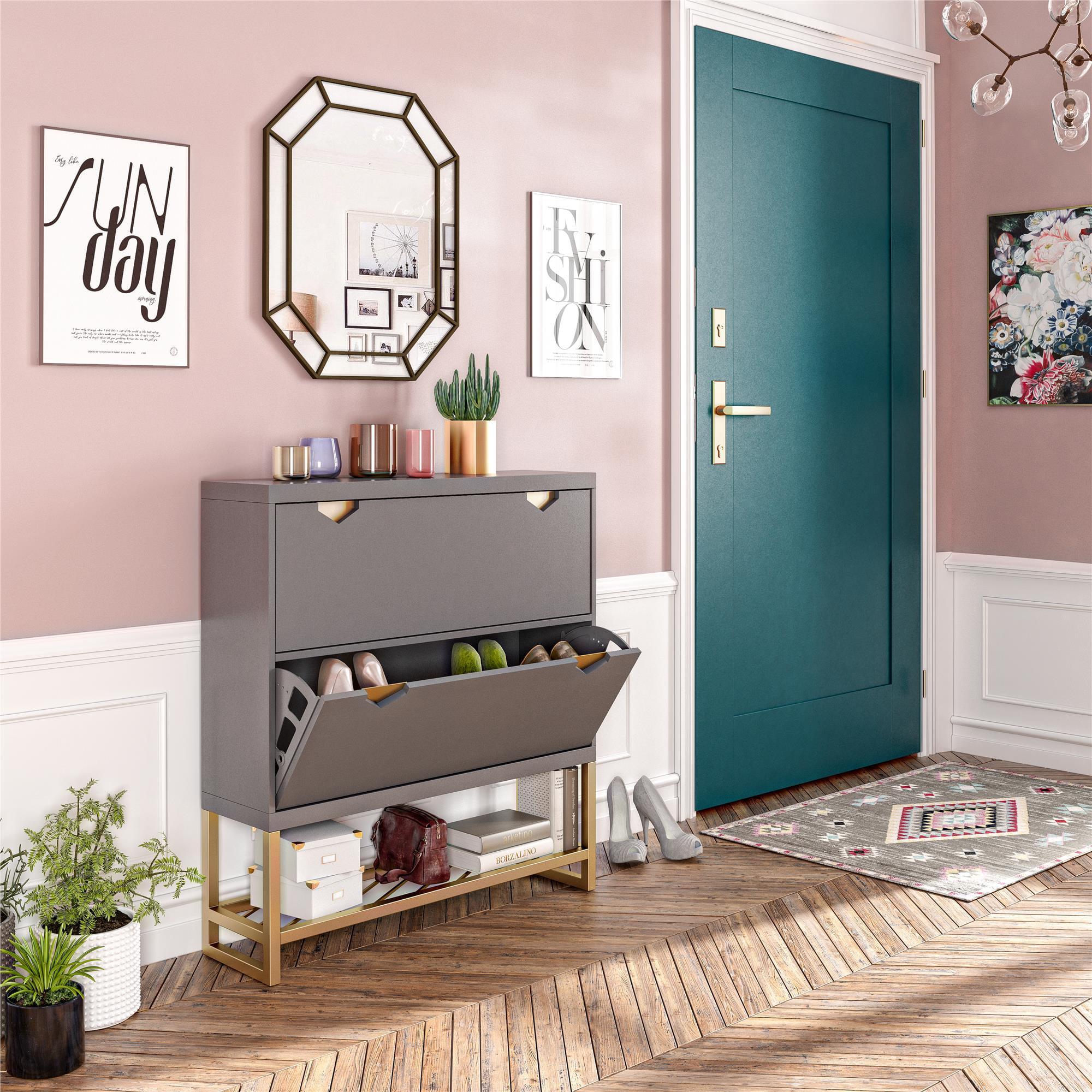 CosmoLiving By Cosmopolitan Brielle Entryway Shoe Storage
