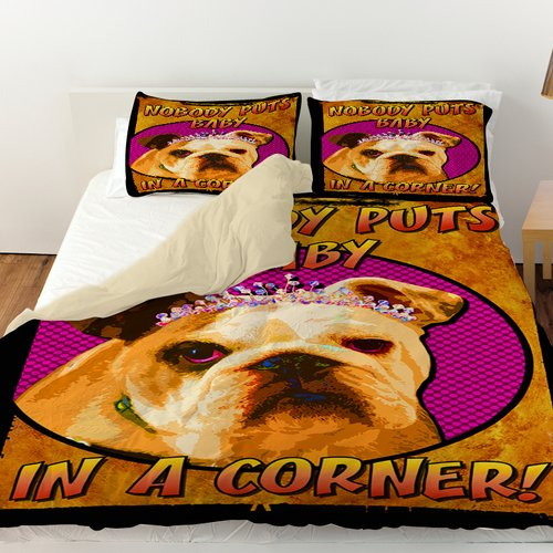 Manual Woodworkers & Weavers Sassys Dog Baby Duvet Cover