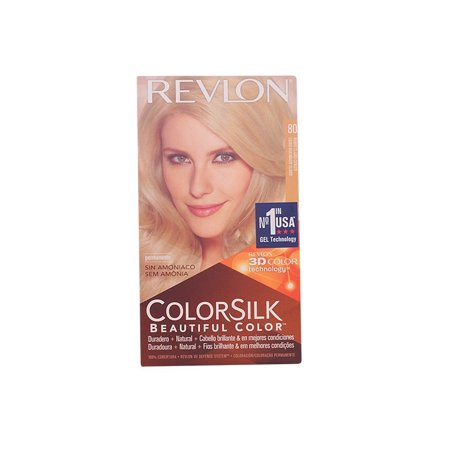 Revlon Colorsilk Permanent Hair Color, Medium Golden Chestnut Brown (1 Count) + Cat Line Makeup - 50s Hair Tutorial