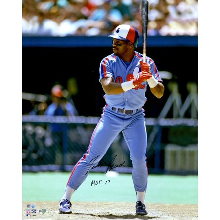 Tim Raines Montreal Expos Autographed 16