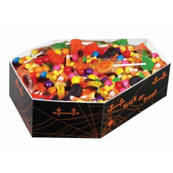 COFFIN CANDY BOWL 12 PACK](Talking Halloween Bowls)