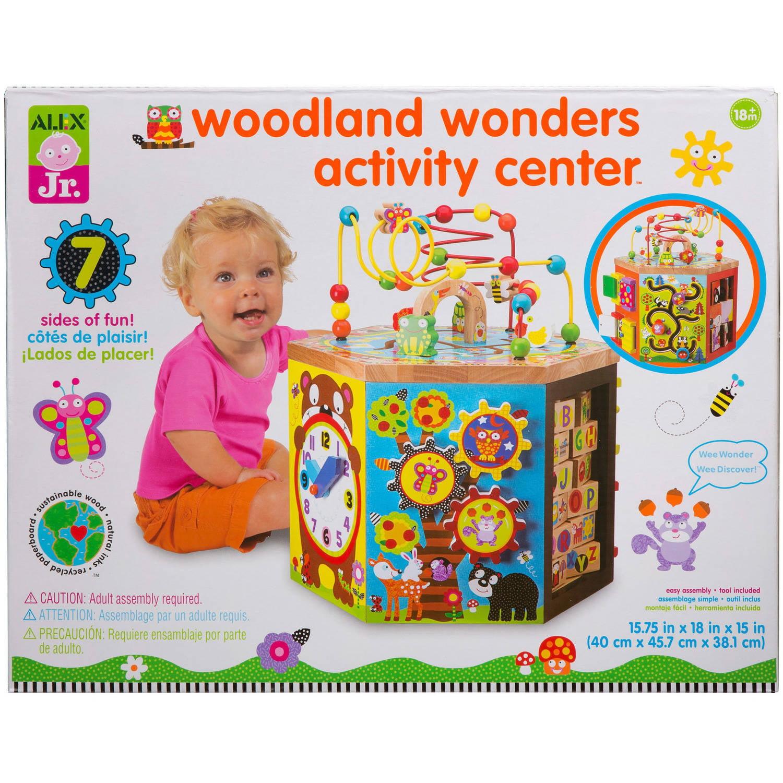 ALEX Toys Alex Jr. Woodland Wonders Activity Center