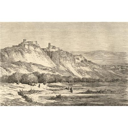 Posterazzi DPI1857129LARGE Arcos De La Frontera Cadiz Spain. Drawn by Gustave Dore From The Book Spanish Poster Print, Large - 36 x 24 - image 1 de 1