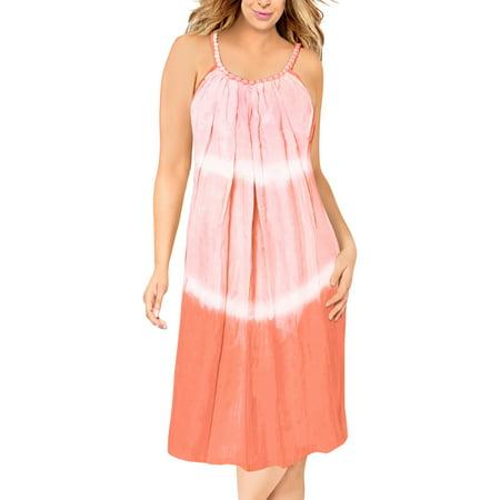 HAPPY BAY Rayon Tie Dye Women Wedding Maxi Tube Evening Midi Beach Party Dress Women Tie Dye