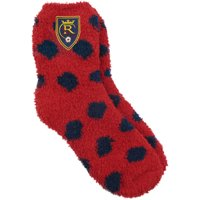 Real Salt Lake ZooZatz Women's Fuzzy Dot Socks - OSFA