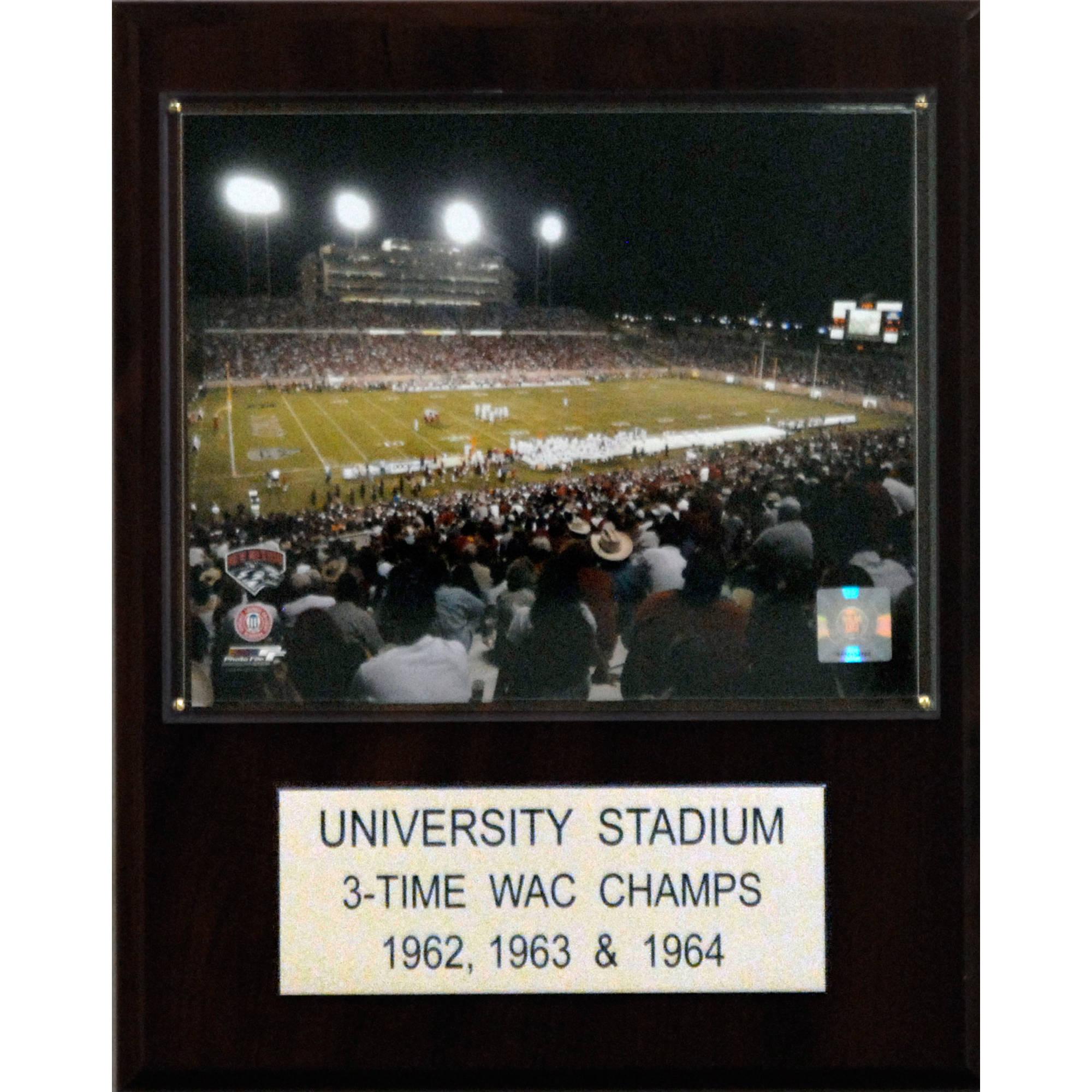 C&I Collectables NCAA Football 12x15 University Stadium Stadium Plaque