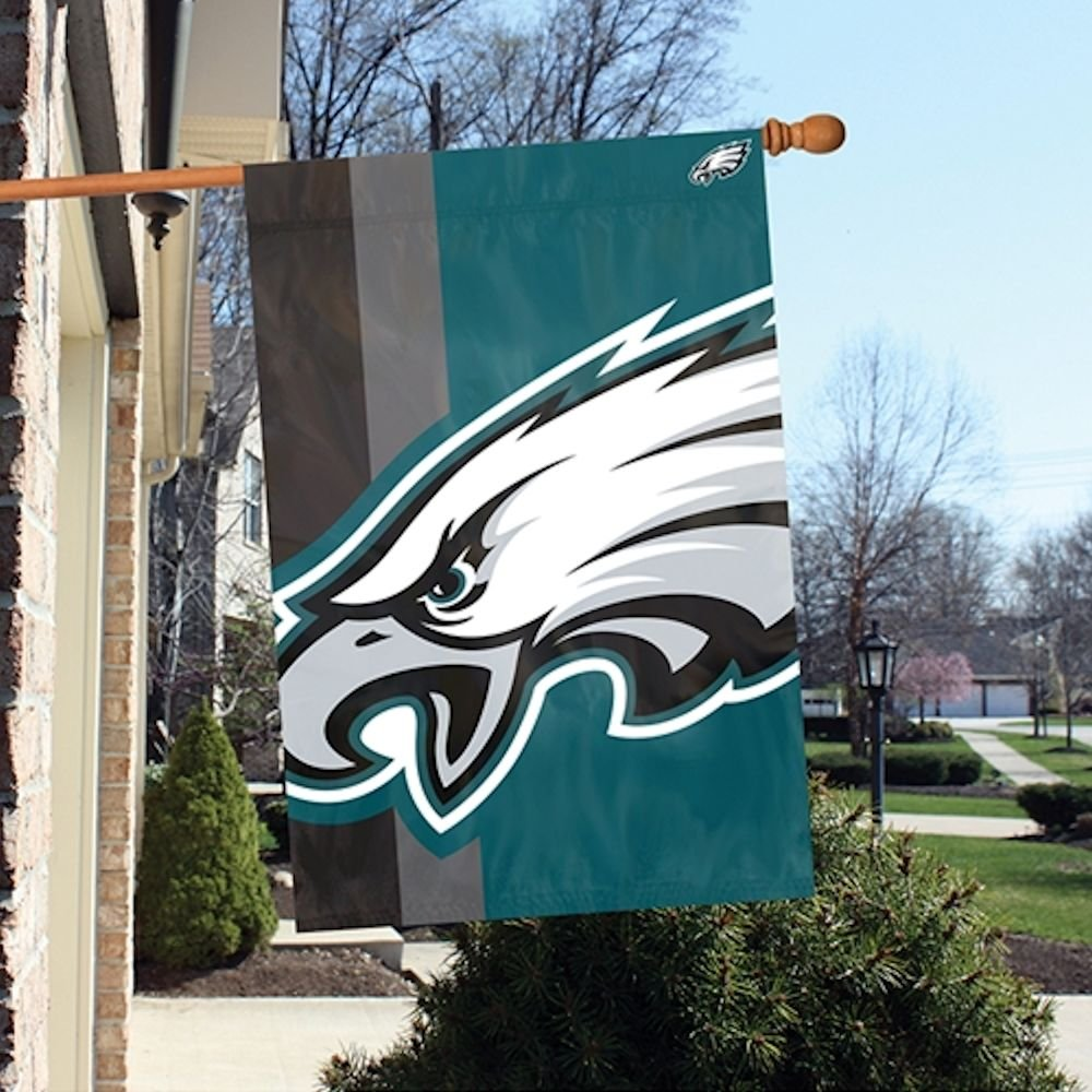 "Party Animal Philadelphia Eagles Bold Logo Banner - United States - 36"" X 24"" - Lightweight, Dye Sublimated - Polyester (blph)"