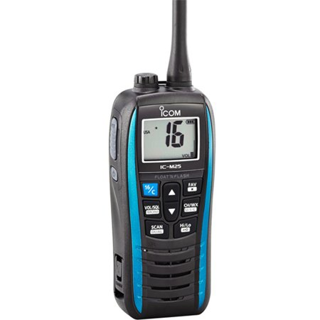 Icom M25 5W Floating VHF - Marine Blue M2551, 5