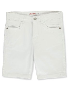 Dreamstar Girls' Twill Bermuda Shorts (Big Girls)