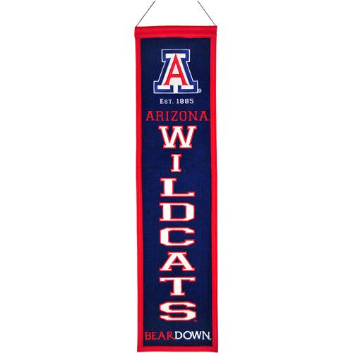 Winning Streak NCAA Heritage Banner, University of Arizona Wildcats