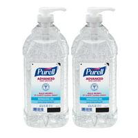 PURELL Advanced Hand Sanitizer Gel, 2 Liter Pump Bottle, 2 Pack