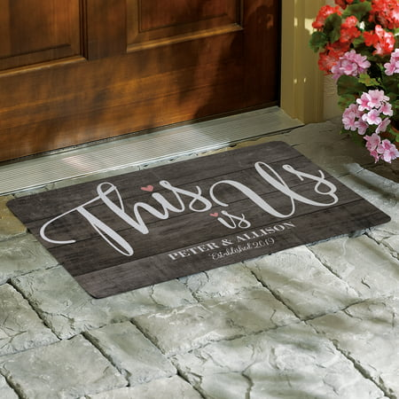 Personalized This is Us Wedding Doormat - Available in 2 Sizes