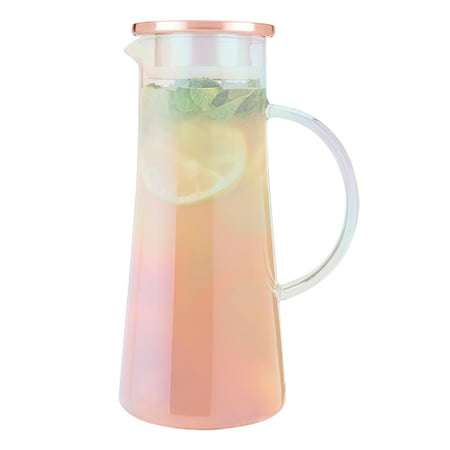 Charlie Iridescent Glass Iced Tea Carafe by Pinky Up