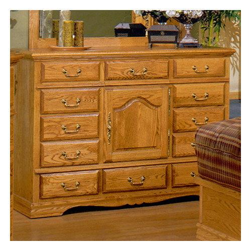 Bebe Furniture Country Heirloom 12 Drawer Dresser in