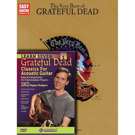 Homespun Grateful Dead Guitar Pack Homespun Tapes Series Softcover with DVD Performed by Grateful