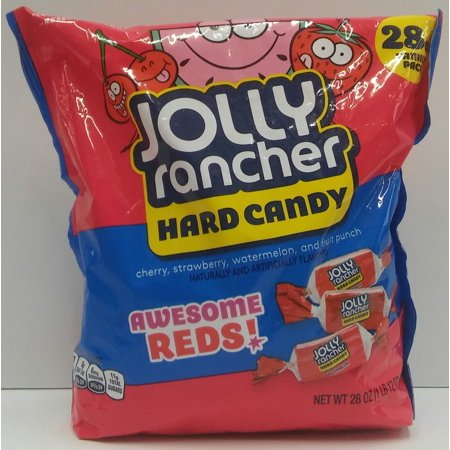 Jolly Rancher Awesome Reds Hard Candy 28 Oz Walmartcom