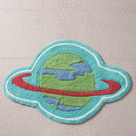 Out of this World Planet Bath Rug