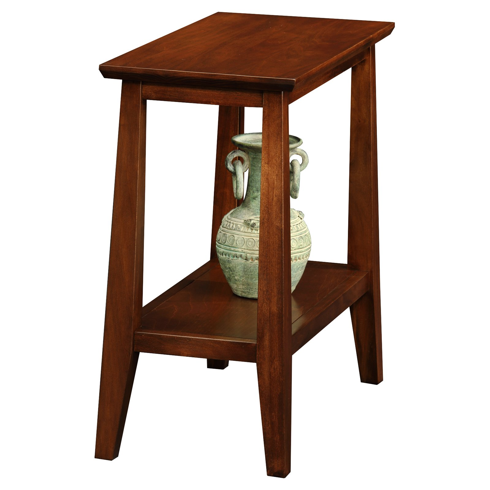 Leick Home Delton Narrow Chairside End Table