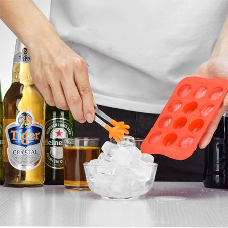 Food Grade Silicone Ice Cube Mold DIY Chocolate Mode Whisky Ice Tray Square - Diy Halloween Food Ideas
