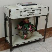 International Caravan Vintage Antique Console Table