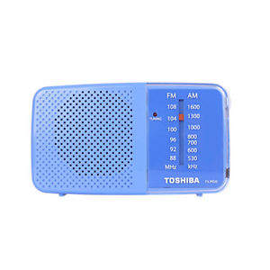 Toshiba TX-PR20 AM/FM Pocket Portable Battery Operated Green Radio