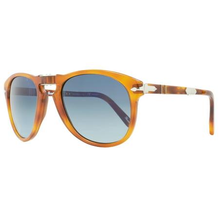 64a4d0daca Persol - Persol Steve McQueen Sunglasses PO714SM 96 S3 Size  54mm Light  Havana Polarized - Walmart.com
