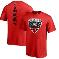Wayne Rooney D.C. United Fanatics Branded Youth Backer Name & Number T-Shirt - Red