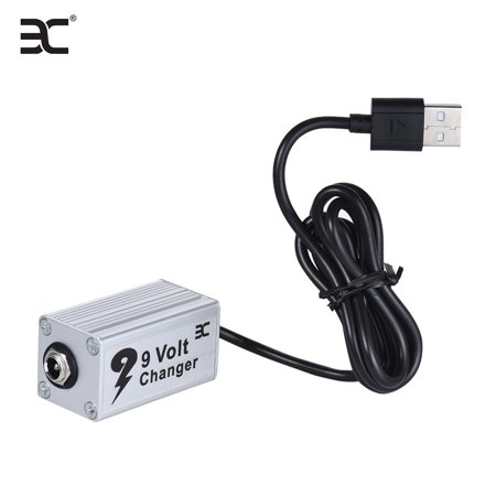 ENO EVC-1 Guitar Effect Power Supply Voltage Converter USB Booster 5V to 9V  Used with Power Bank as Step Up Converter for 9V Guitar Effects