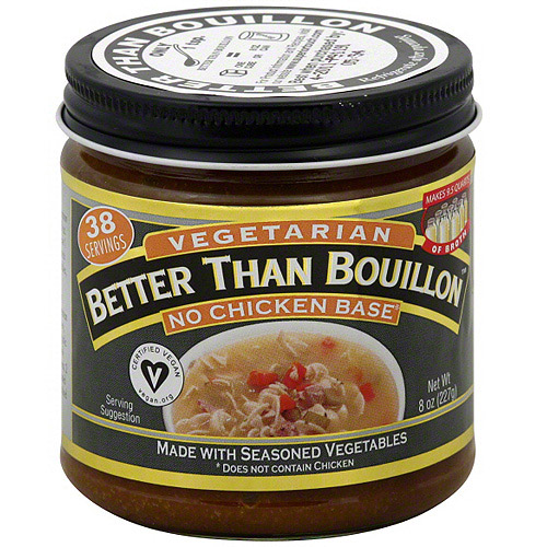 Superior Touch Better Than Bouillon Vegetarian No Chicken Soup Base, 8 oz (Pack of 6)
