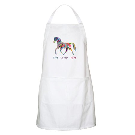 - CafePress - Rainbow Horse Gift Apron - Kitchen Apron with Pockets, Grilling Apron, Baking Apron