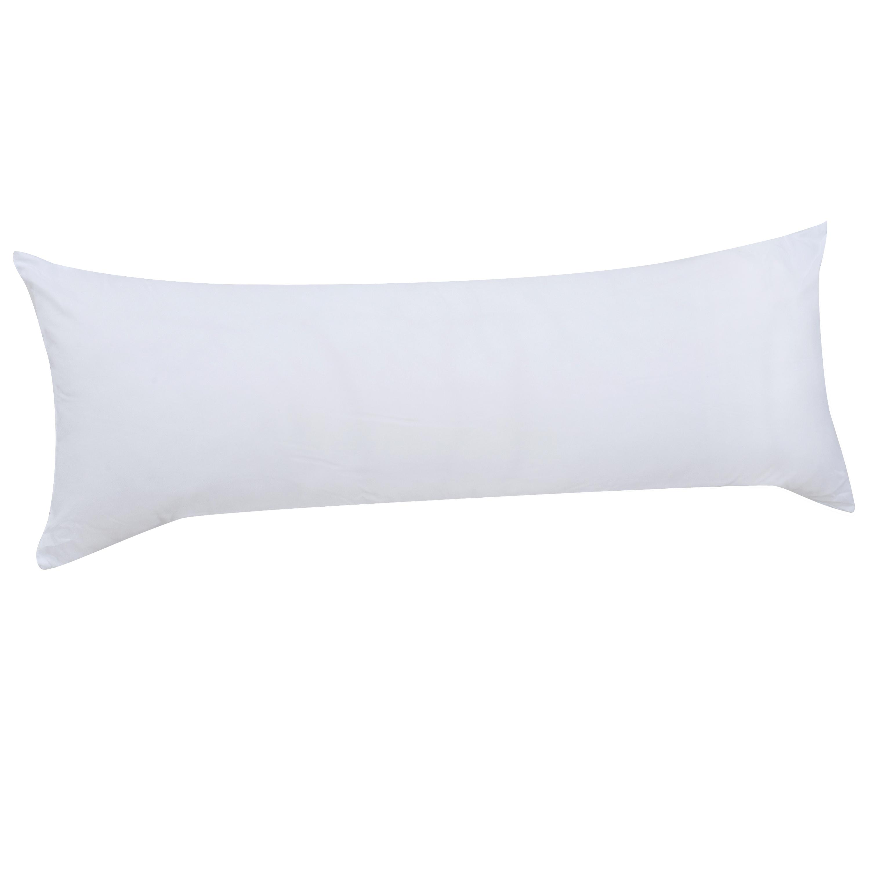 """Mainstays Body Pillow 100% Polyester 20"""" x 54"""" in Multiple Colors by Hollander Sleep Products"""