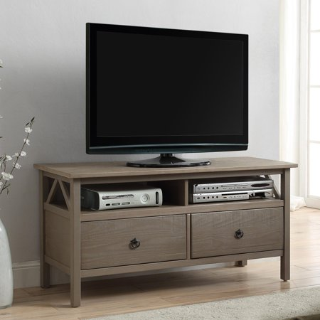Titian Rustic TV Stand Driftwood - Linon