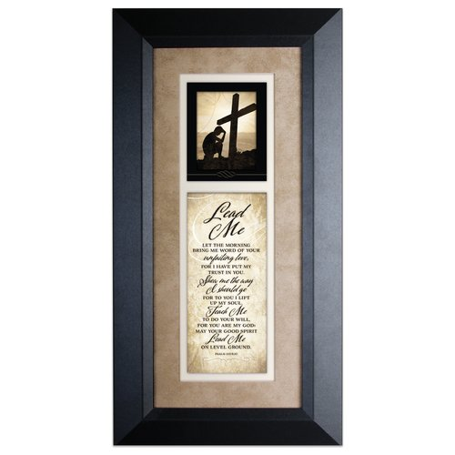 The James Lawrence Company 'Lead Me' Framed Textual Art