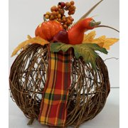 Harvest Twig Pumpkin Decor