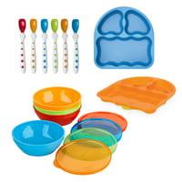 First Essentials by NUK 12-Piece Bunch-a-Bowls Feeding Set